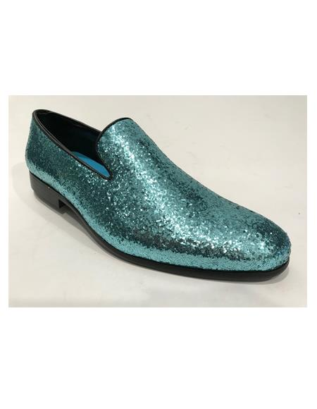 Dress Shoes Turquoise