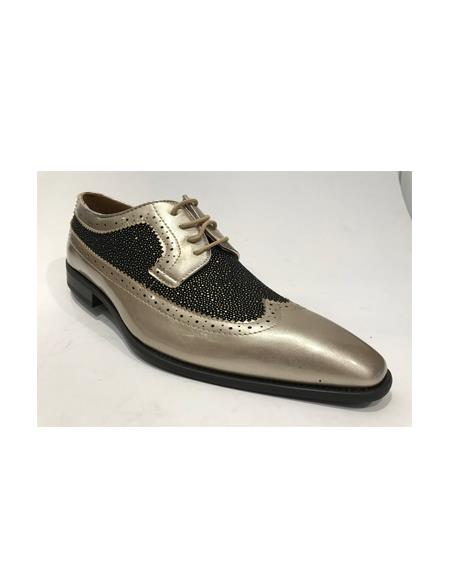 Two Toned Shoes Silver