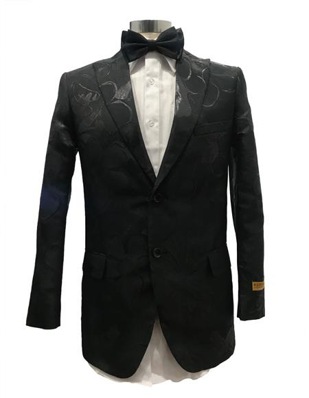 Black Single Breasted Suit