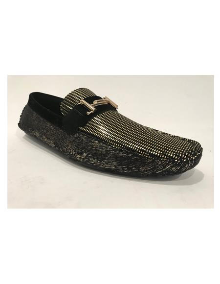 Slip-On Black Shoes