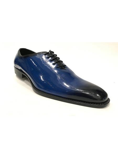 Cap Toe Black Shoes