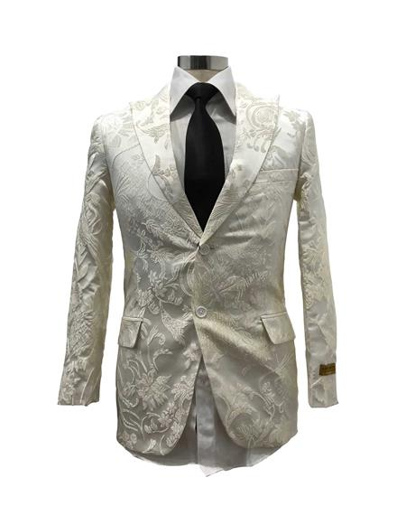 Satin Shiny Fashion Blazer