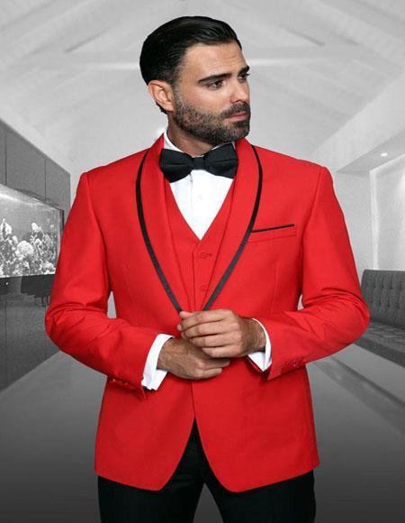 1-Button Shawl Tuxedo -