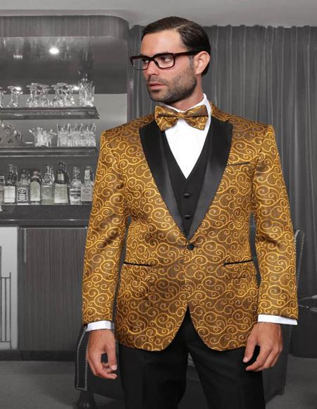 1-Button Notch Tuxedo