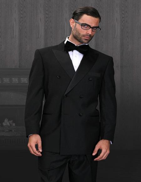 6-Button Peak DB Tuxedo