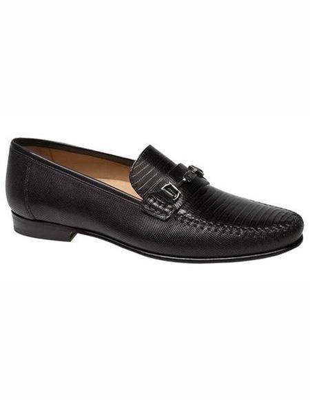 men's Loafers Design Slip On Shoe Black