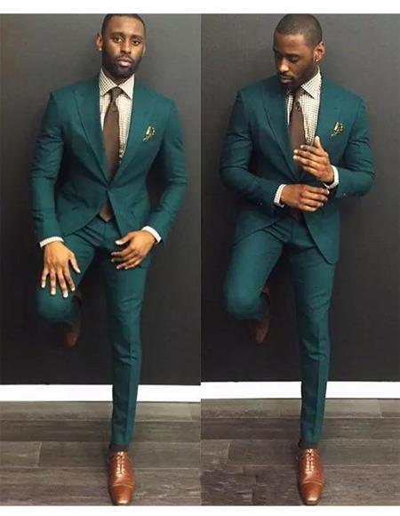 Green Suit for Men