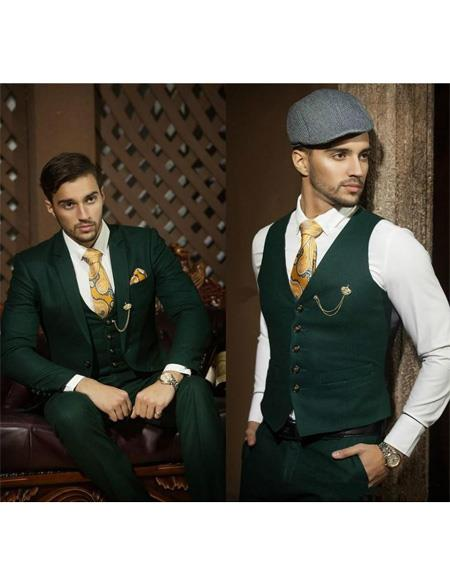 Mens Emerald Green Suit for Men