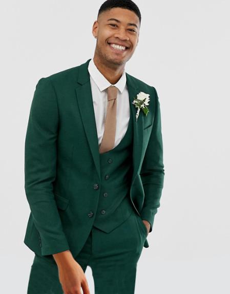 Green Suit for Men