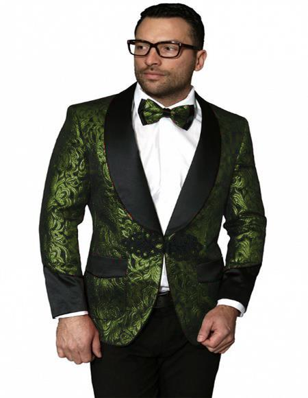 Breasted Shawl Label Suit