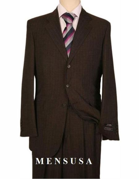Mens Suits Brown
