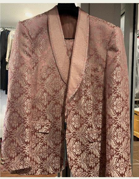 Rose Gold Suit Jacket