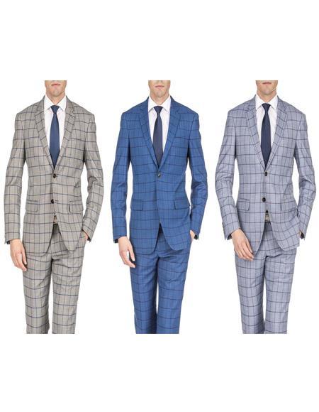 Fit Suits Plaid ~