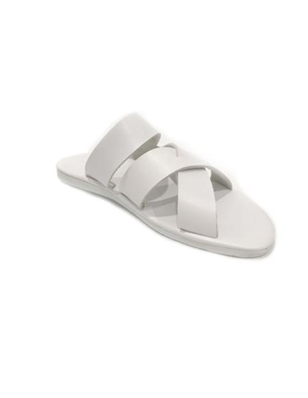 Mens White Sandal