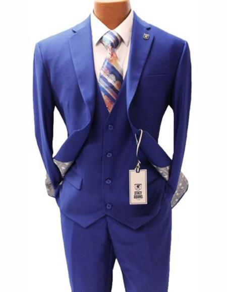 Notch Lapel Suit Two