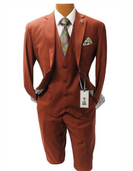 Button Suit Modern Fit