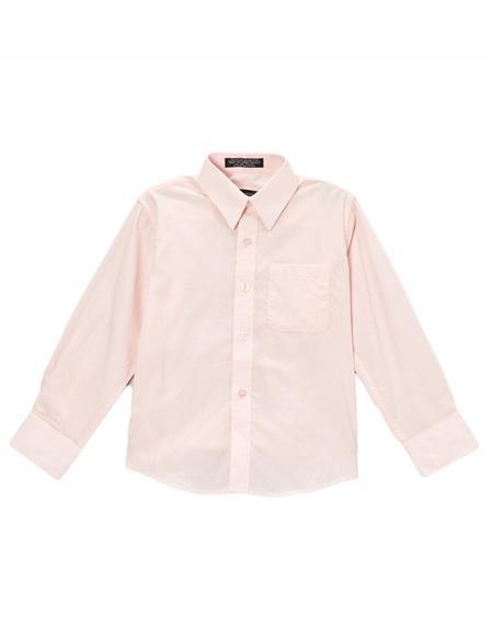 Pink Button Closure Shirt