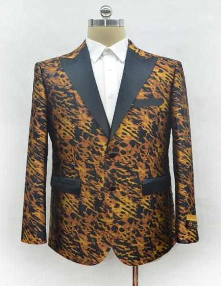 Ostrich looking Leopard Suit