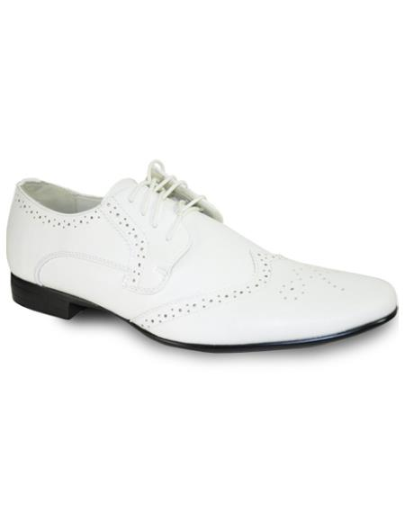 Toe Dress Shoe White