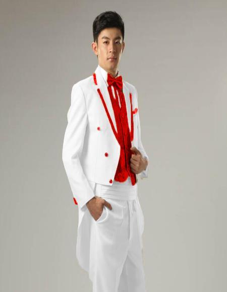 Suits Costume Groom Tuxedo