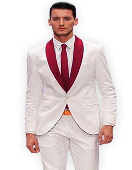 Shawl Lapel Tuxedo Suit