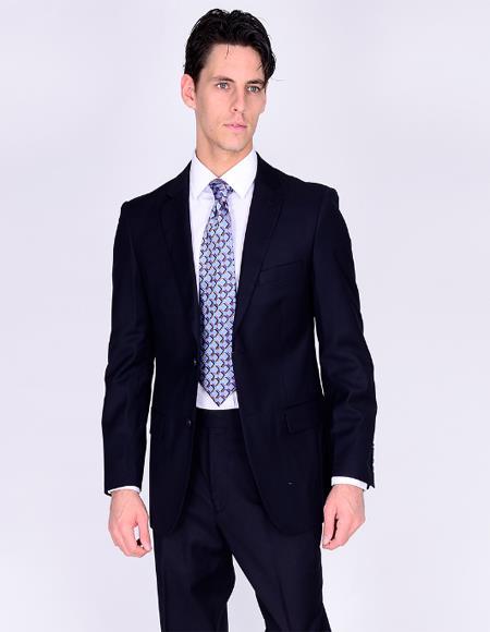 Bertolini Suit Navy