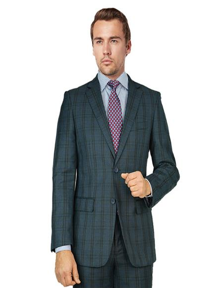 Blue Gray Windowpane