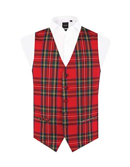 Tartan Vest Regular Fit