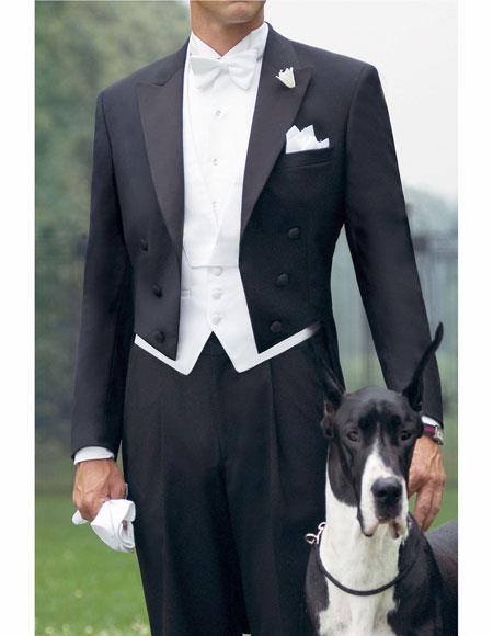 Fit 100% Wool Tuxedo
