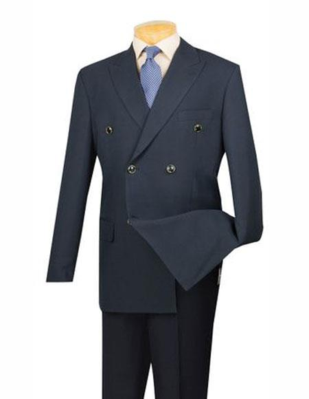 Suit Peak Lapel Double