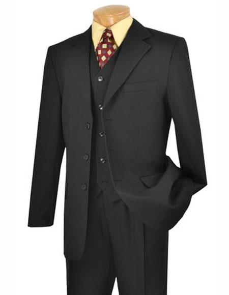 Suit Single Black Breasted