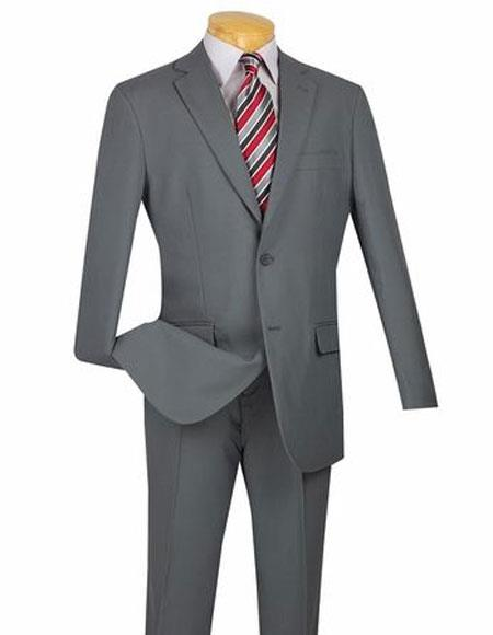 Suit Single Breasted Gray
