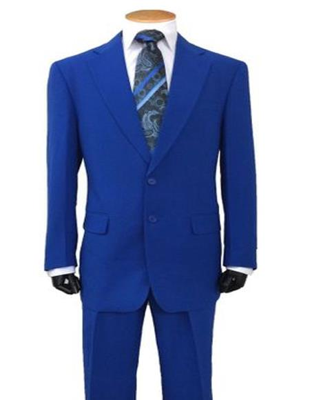 Royal Blue Suit For