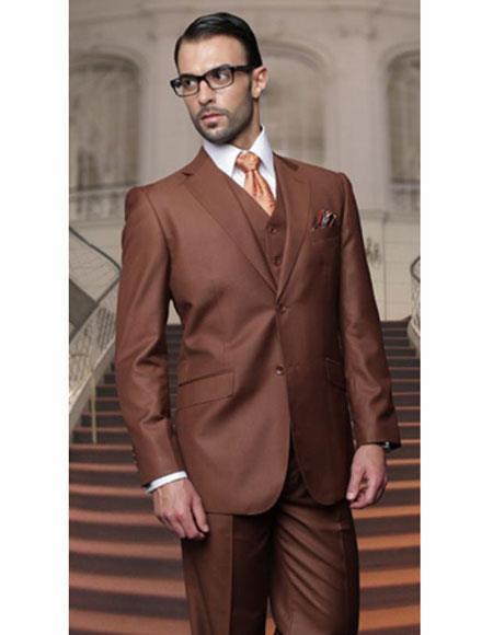 Classic Copper Mens Suits
