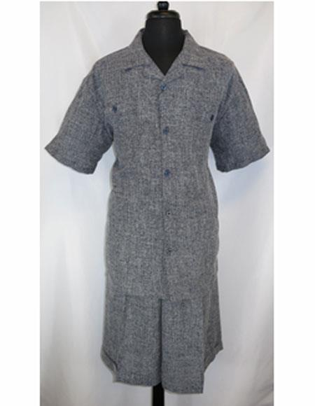Button Navy Blue PJ