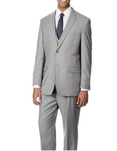 Light Grey Slim Suit