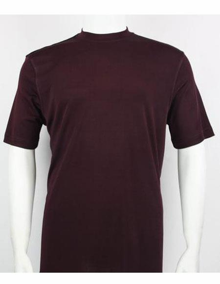 Shirts For Men Plum