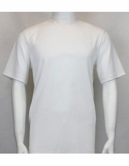 Neck Shirts White