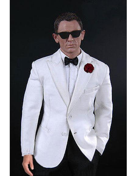 James Bond Tuxedo White