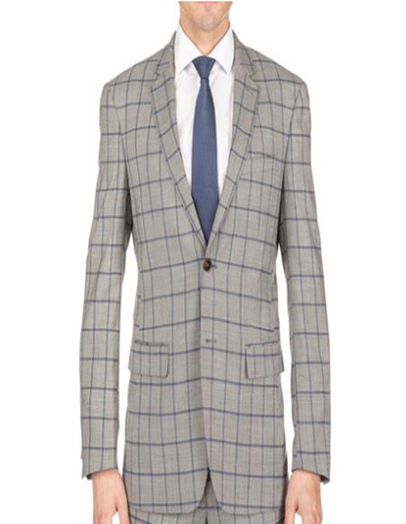- Checkered Suit Single