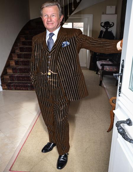 1940s Mens Gatsby Mobster