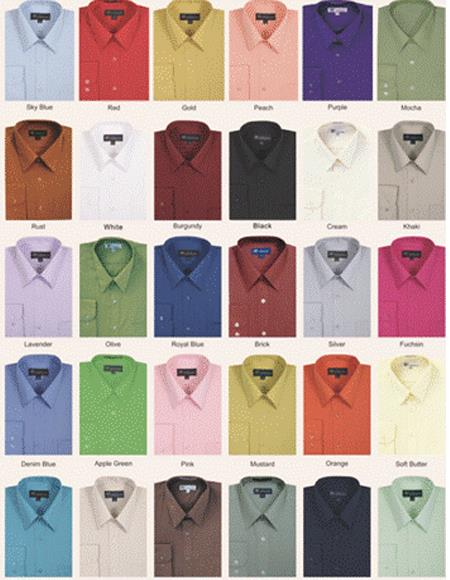 Mens Mystery Dress Shirt Bundle. 10 Shirts (you pick the size) (We pick the color and style) $150