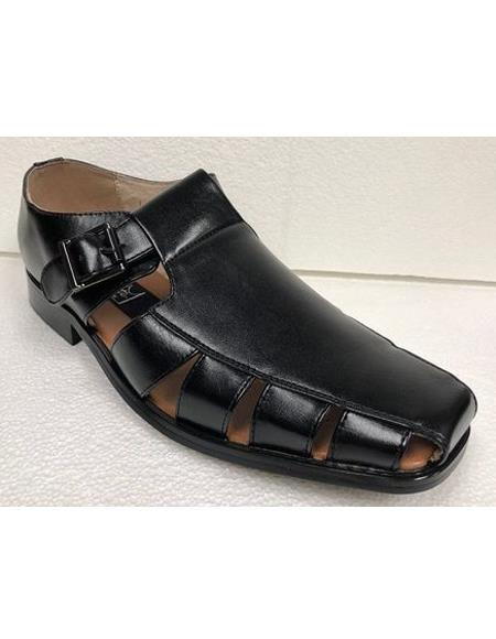 Dress Sandals Black Closed