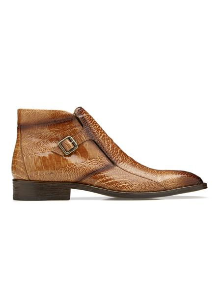 Ostrich Ankle Boot Style:
