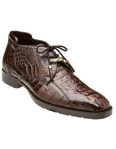 Hornback Crocodile Ankle Boot