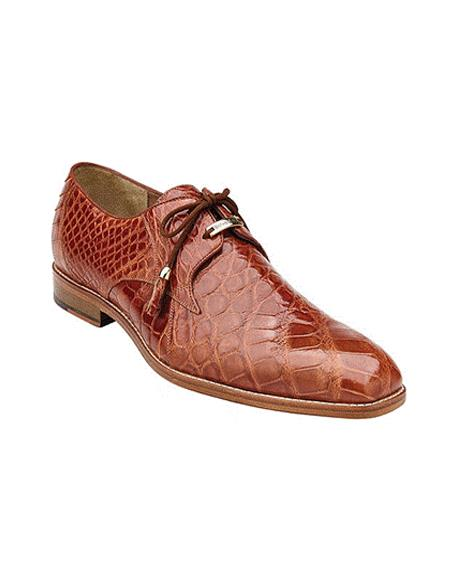 Plain-toed Derby Dress Shoes