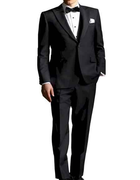 Gatsby Black Tuxedo Suit
