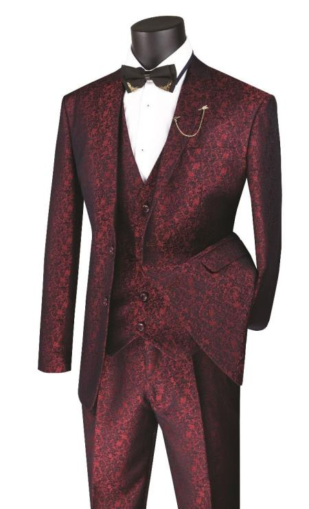 Paisley Vested 3 Piece