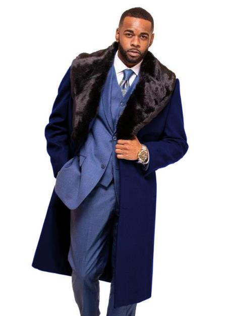Blue Overcoat ~ Topcoat