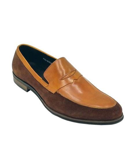 Shoe Tan Brown Unique
